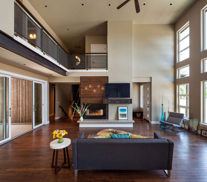 Wonderful 82285416824 House With Natural Stone And Wood Exterior And A High End  Interior