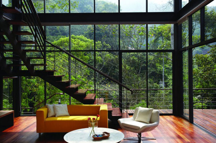 House In The Woods Part - 49: 73517597438 Gorgeous Deck House In The Woods Designed By Choo Gim Wah  Architect