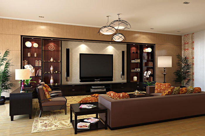 . Living Room Designs  132 Interior Design Ideas
