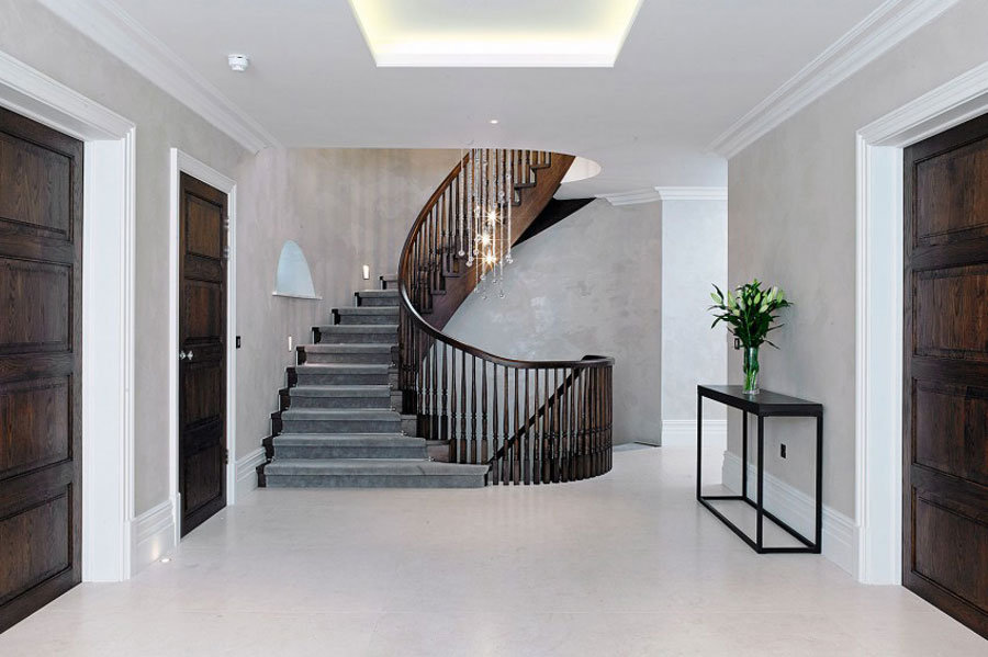 Elegant Interior Design stylish british house with spacious and elegant interior design