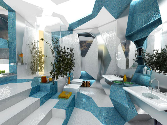 Gorgeous Bathroom Design That Could Easily Rival Spas 4