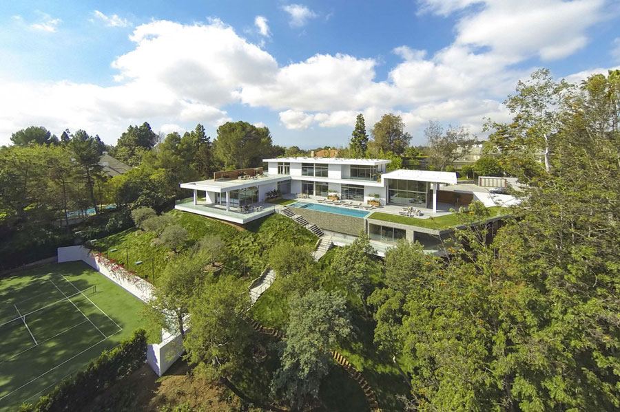 1 Spectacular Estate In Los Angeles Designed By Quinn Architects