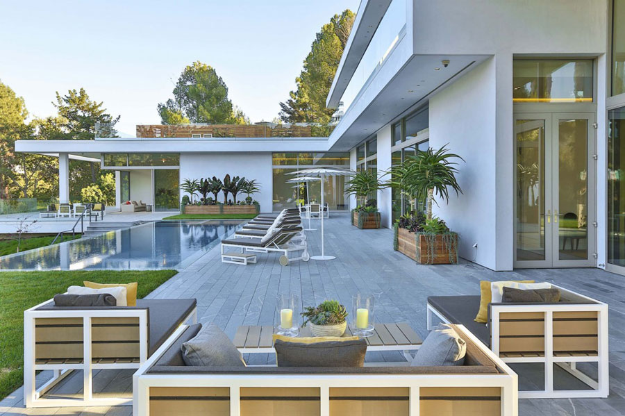 16 Spectacular Estate In Los Angeles Designed By Quinn Architects