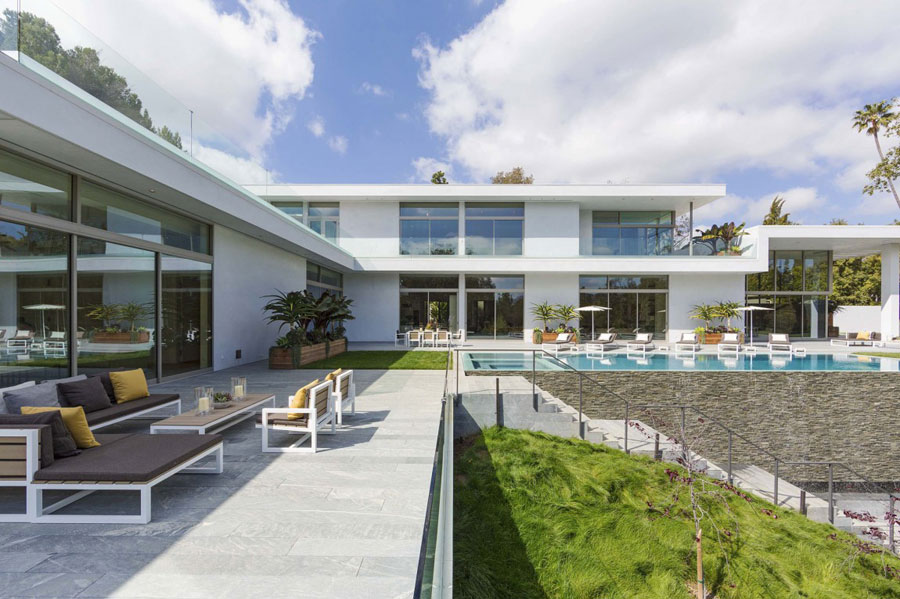 2 Spectacular Estate In Los Angeles Designed By Quinn Architects