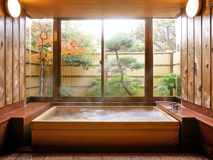 The Elegant Design Of Japanese Styled Bathroom 11