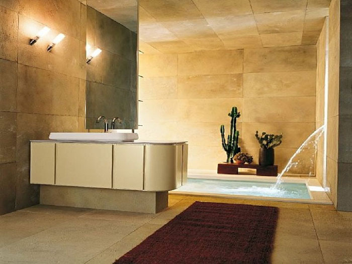 The Elegant Design Of Japanese Styled Bathroom 12