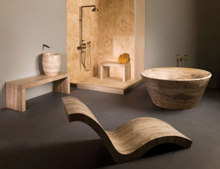 The Elegant Design Of Japanese Styled Bathroom 9