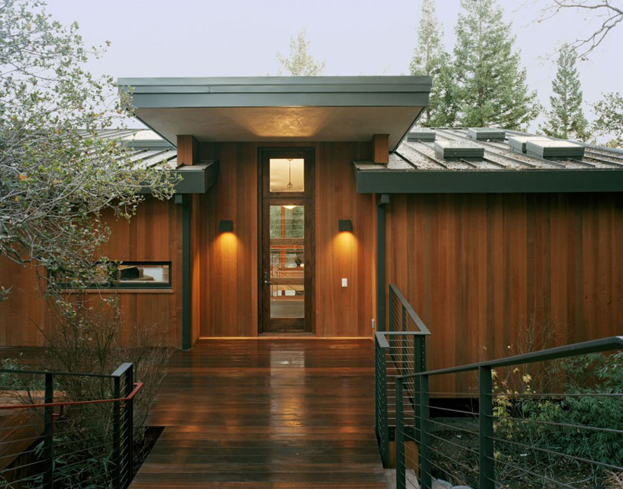 Cozy Home With Lots Of Wooden Elements Designed By Kaplan Architects