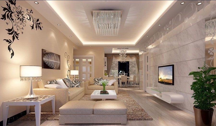 Genial 11 Luxury Living Rooms: 31 Examples Of Decorating Them