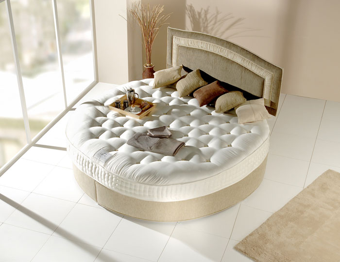 designs of round beds for your bedroom