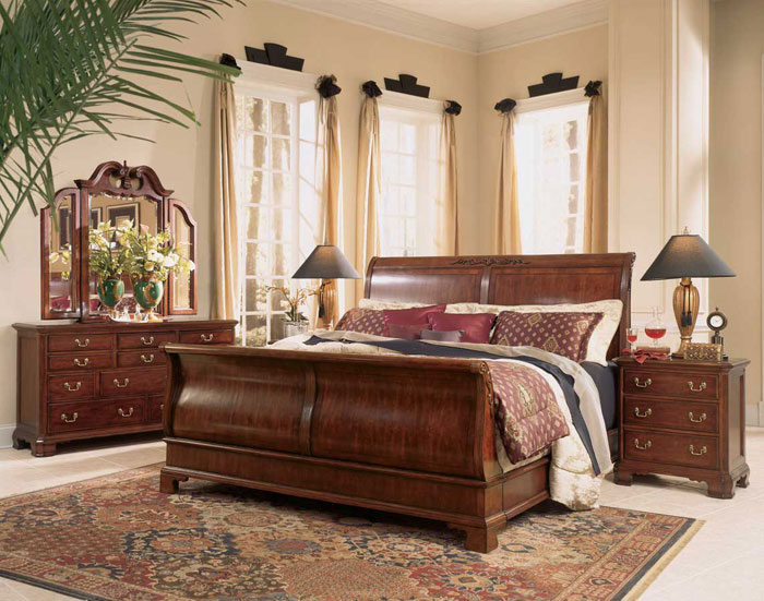 Showcase Of Bedroom Designs With Sleigh Beds - Sleigh bed design ideas bedroom
