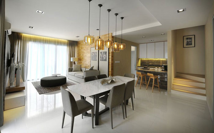 83422645435 Elegant Interior Design In Kuala Lumpur By Blu Water Studio