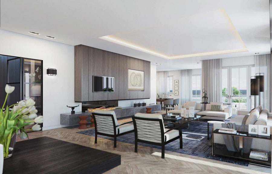 Penthouse Design Inspiration By Ando Studio
