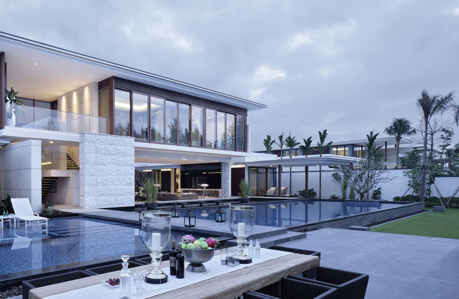 Modern Chinese Villa With Luxurious Features Designed By gad