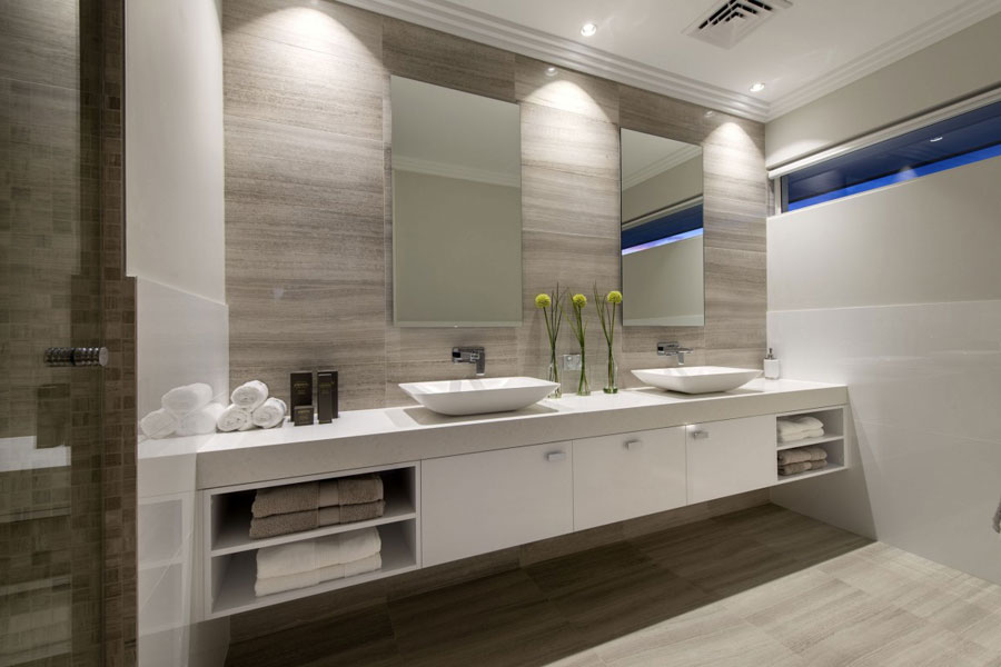 14 Floating Sink Cabinets Design Examples To Use In Your Bathroom