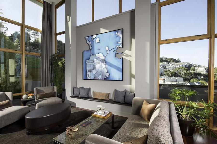 5 Splendid House On The Hillside Designed By Susan Fredman Design Group