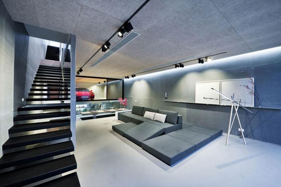 4 Sleek And Modern Interior Design Of A Split Level Home