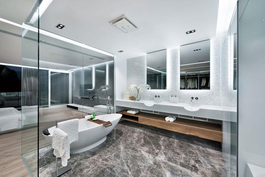 6 sleek and modern interior design of a split level home - Split Level Interior Design