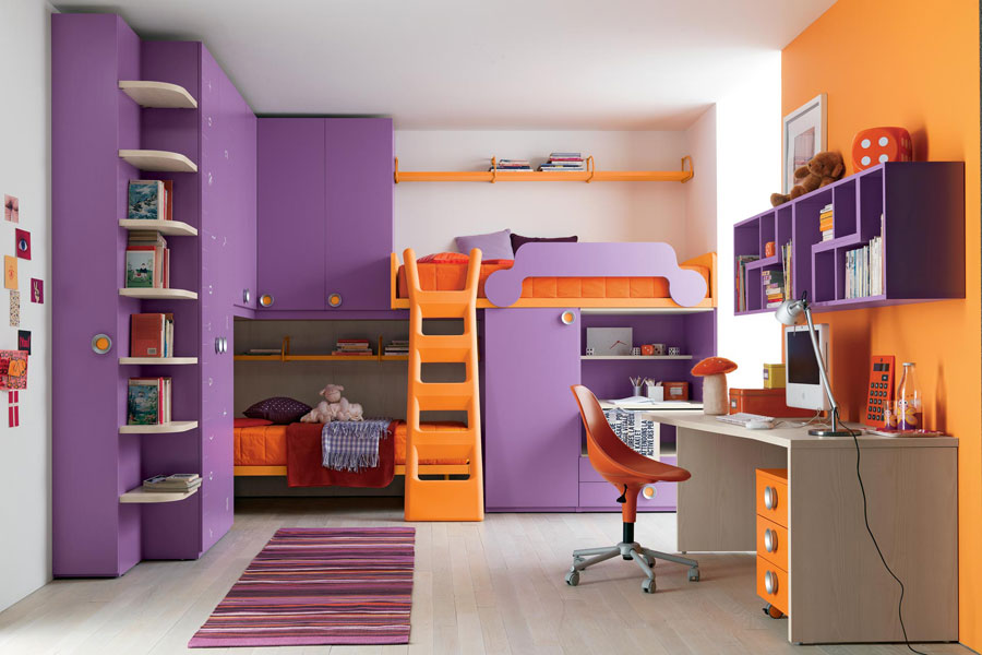 Charming 14 Modern Bunk Bed Designs And Ideas For Your Kidsu0027 Bedroom