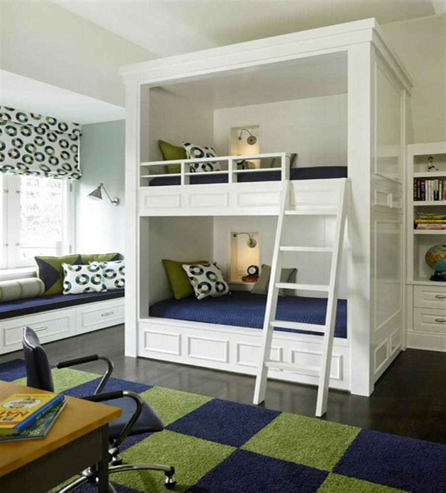Modern bunk beds for adults - Modern Bunk Bed Designs And Ideas For Your Kids Bedroom 15