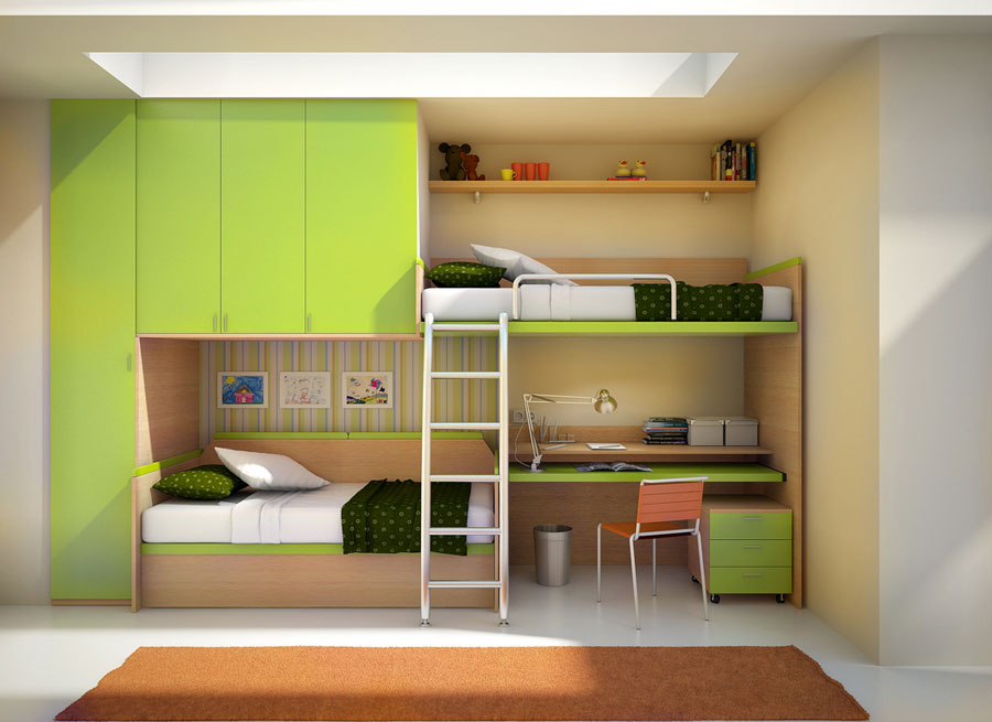 2 Modern Bunk Bed Designs And Ideas For Your Kidsu0027 Bedroom