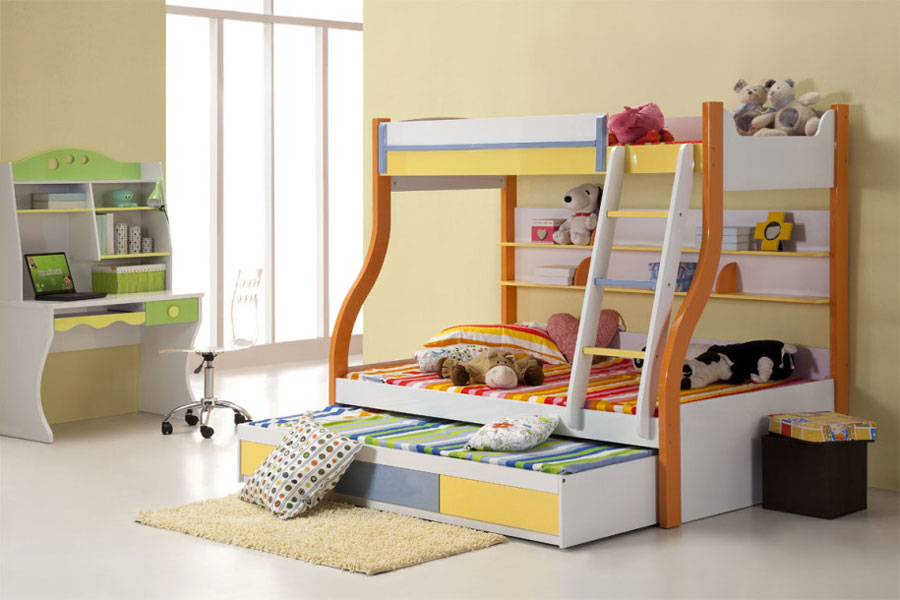 Kids Bedroom Ideas Bunk Beds modern bunk bed designs and ideas for your kids' bedroom