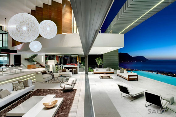 spelndid house and room design. af5 Splendid House In South Africa By SAOTA Architects and OKHA Interiors
