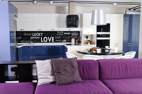 Apartment Designed With A Modern Style That Any Young Girl Would Like