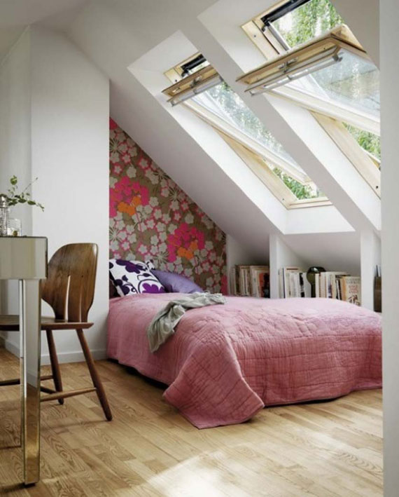 a18 Inspiration And Ideas For Decorating An Attic Bedroom