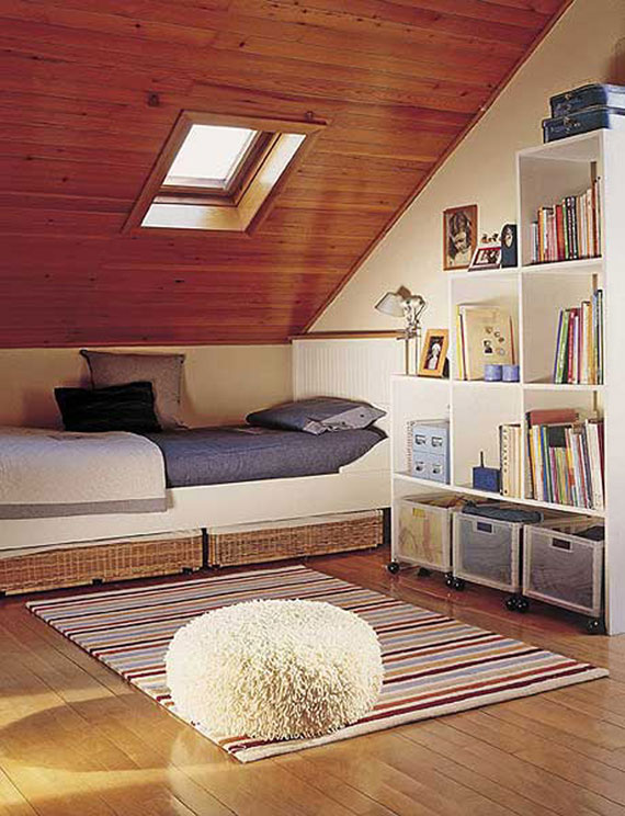 a36 inspiration and ideas for decorating an attic bedroom - Ideas For Attic Bedrooms