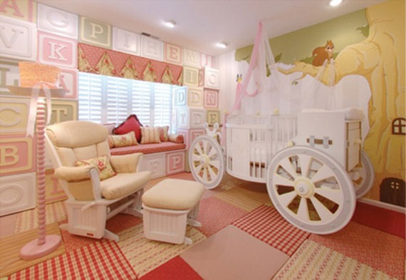 Your Little Kids Room Baby Nursery Interior Design Ideas - Baby rooms designs