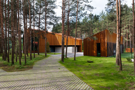 Superbly Designed House Among The Pines Of Vilnius 1
