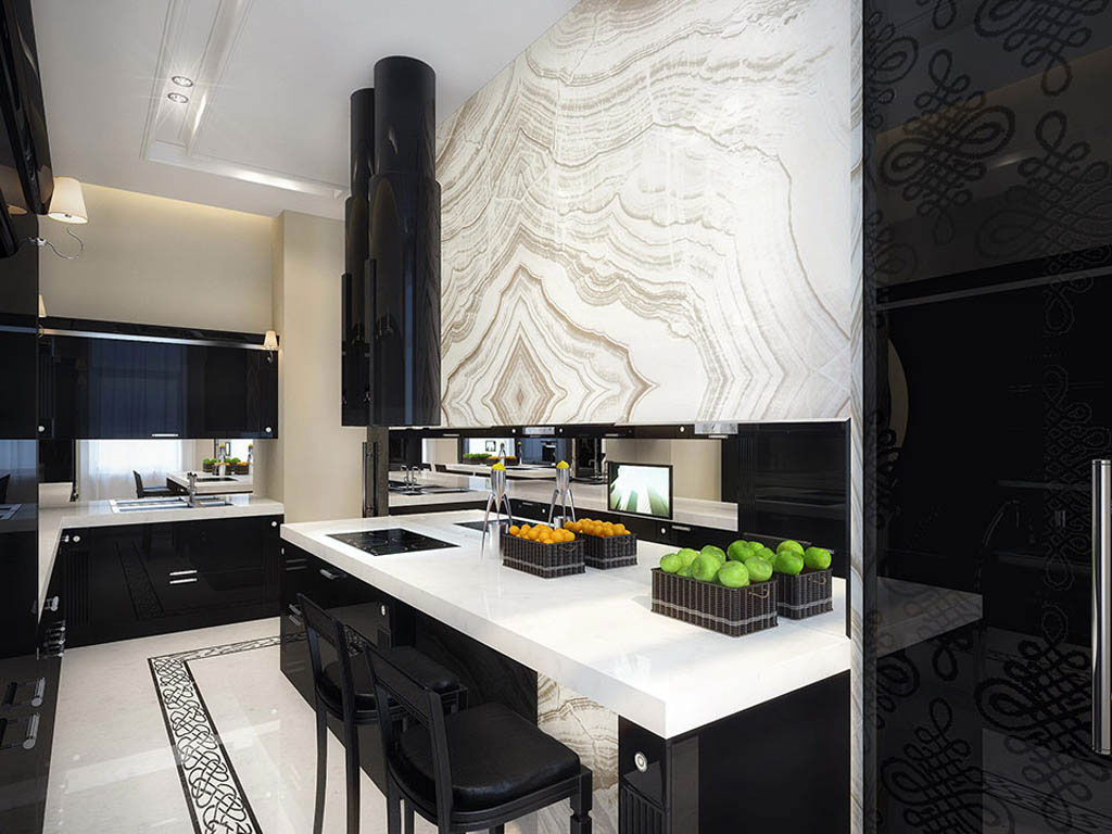 the unexpected stylish look of black kitchen designs b28 the unexpected stylish look of black kitchen designs