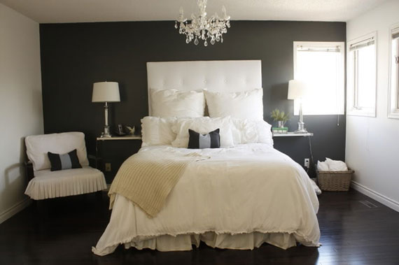 Bedrooms With Black Walls black walls ideas for your modern interiors (47  pictures)