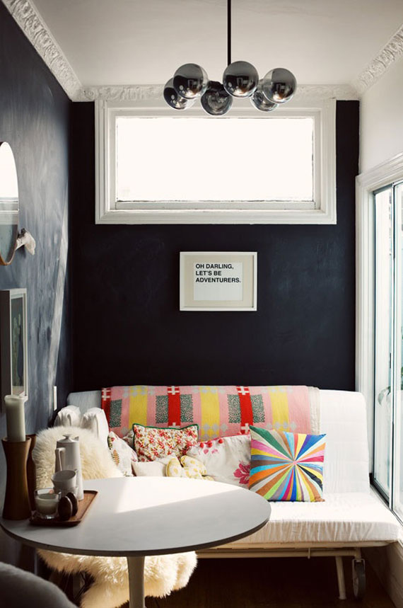 Blackwall13 Black Walls Ideas For Your Modern Interiors (47 Pictures)