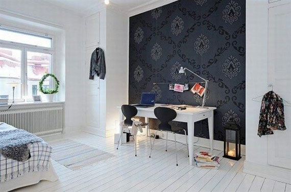 blackwall28 Black Walls Ideas For Your Modern Interiors (47 Pictures)