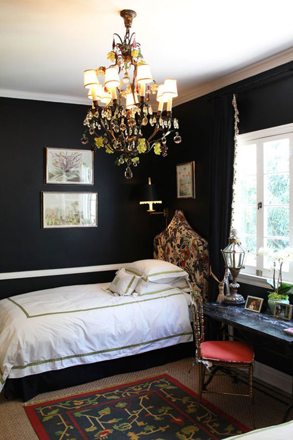 Blackwall3 Black Walls Ideas For Your Modern Interiors (47 Pictures)