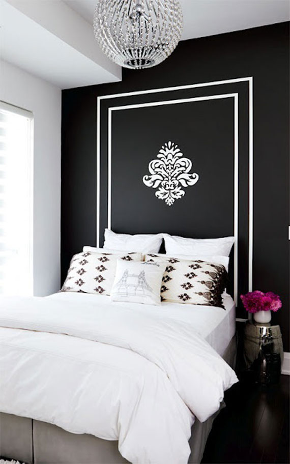Black Painted Room Ideas black walls ideas for your modern interiors (47 pictures)