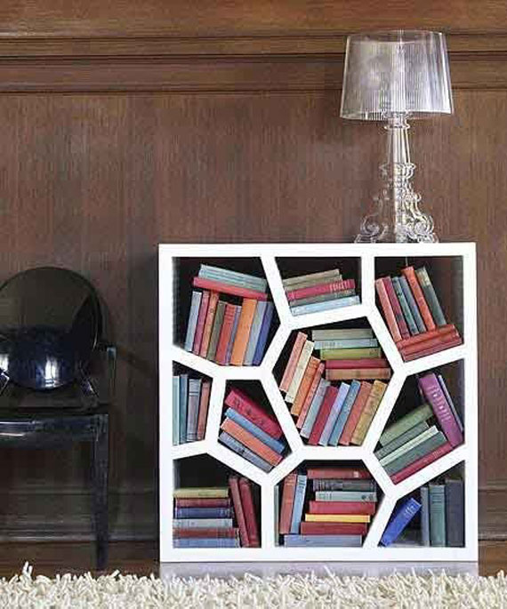 Unique Bookshelves Designs You Would Like To Own 8