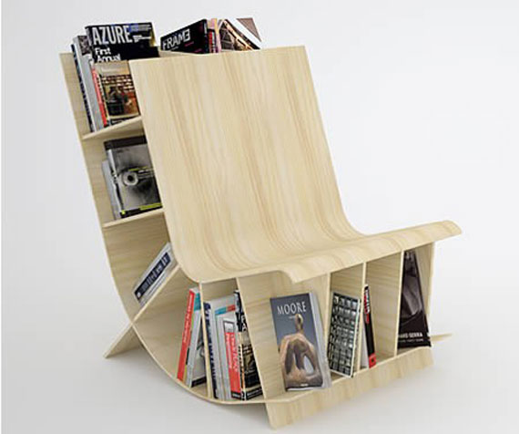 Unique Bookshelves Designs You Would Like To Own 2