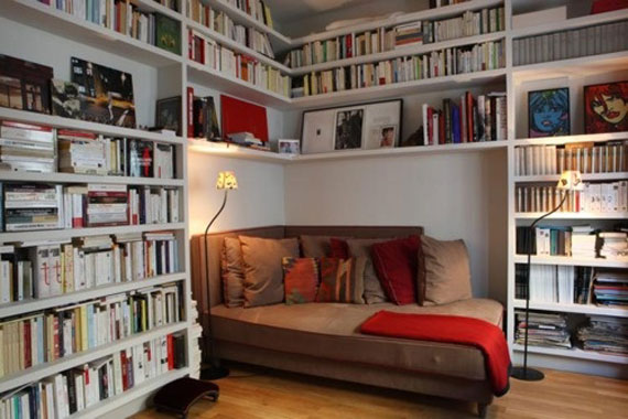 Unique Bookshelves Designs You Would Like To Own 23