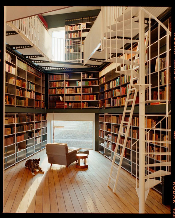 Unique Bookshelves Designs You Would Like To Own 24