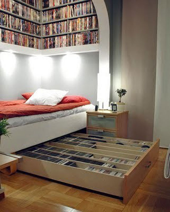 Unique Bookshelves Designs You Would Like To Own 15