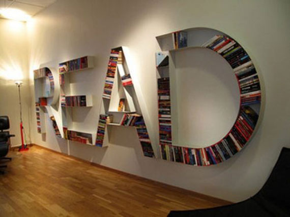 Unique Bookshelves Designs You Would Like To Own 31