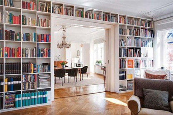 Unique Bookshelves Designs You Would Like To Own 21