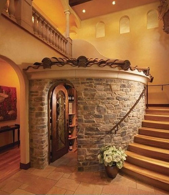 Brick And Stone Wall Ideas For A House's Interiors 1