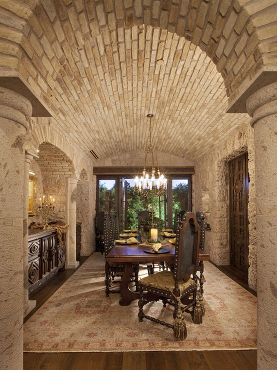 Stone Walls Inside Homes brick and stone wall ideas (38 house interiors)