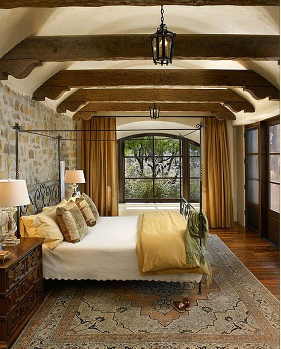 Brick And Stone Wall Ideas For A House's Interiors 18