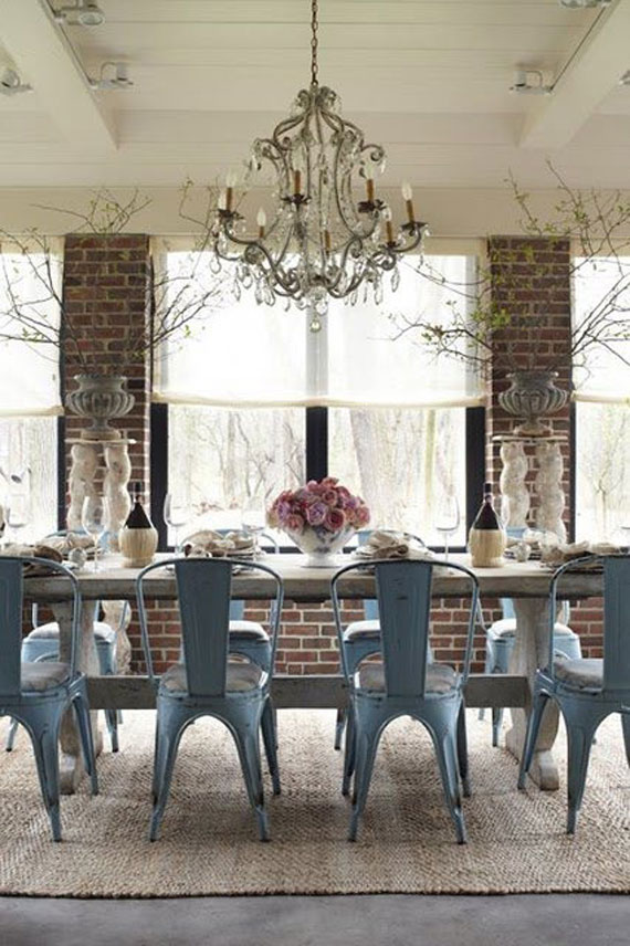 Brick And Stone Wall Ideas For A House's Interiors 4