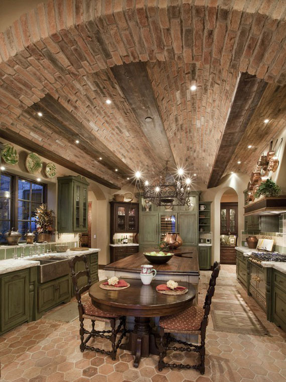 brick26 Brick And Stone Wall Ideas (38 House Interiors)
